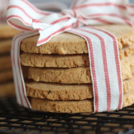 Cardamom, Ginger, and Cinnamon Biscuits - £0.75