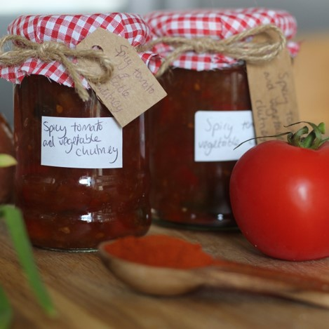 Tomato and Vegetable Chutney - £0.75