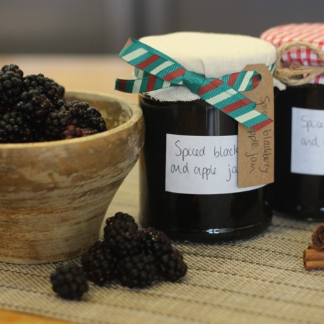 Spiced Blackberry and Apple Jam - £0.65