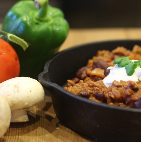 Hassle-Free: Beef Chilli
