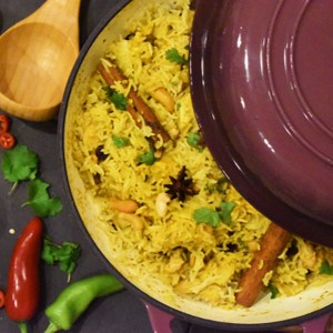 Chicken biryani - £2.75