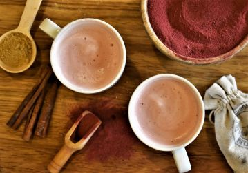 Beetroot latte