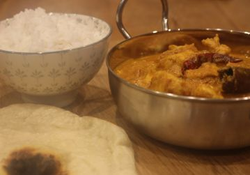 Dhaba style Indian chicken