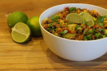 Hot and Spicy Mexican Quinoa