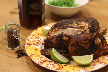 Roasted Caribbean Chicken