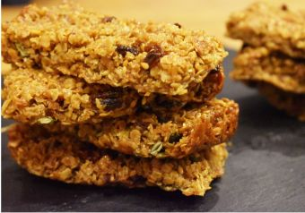 Goji berry flapjacks