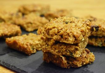 Goji berry vegan flapjacks